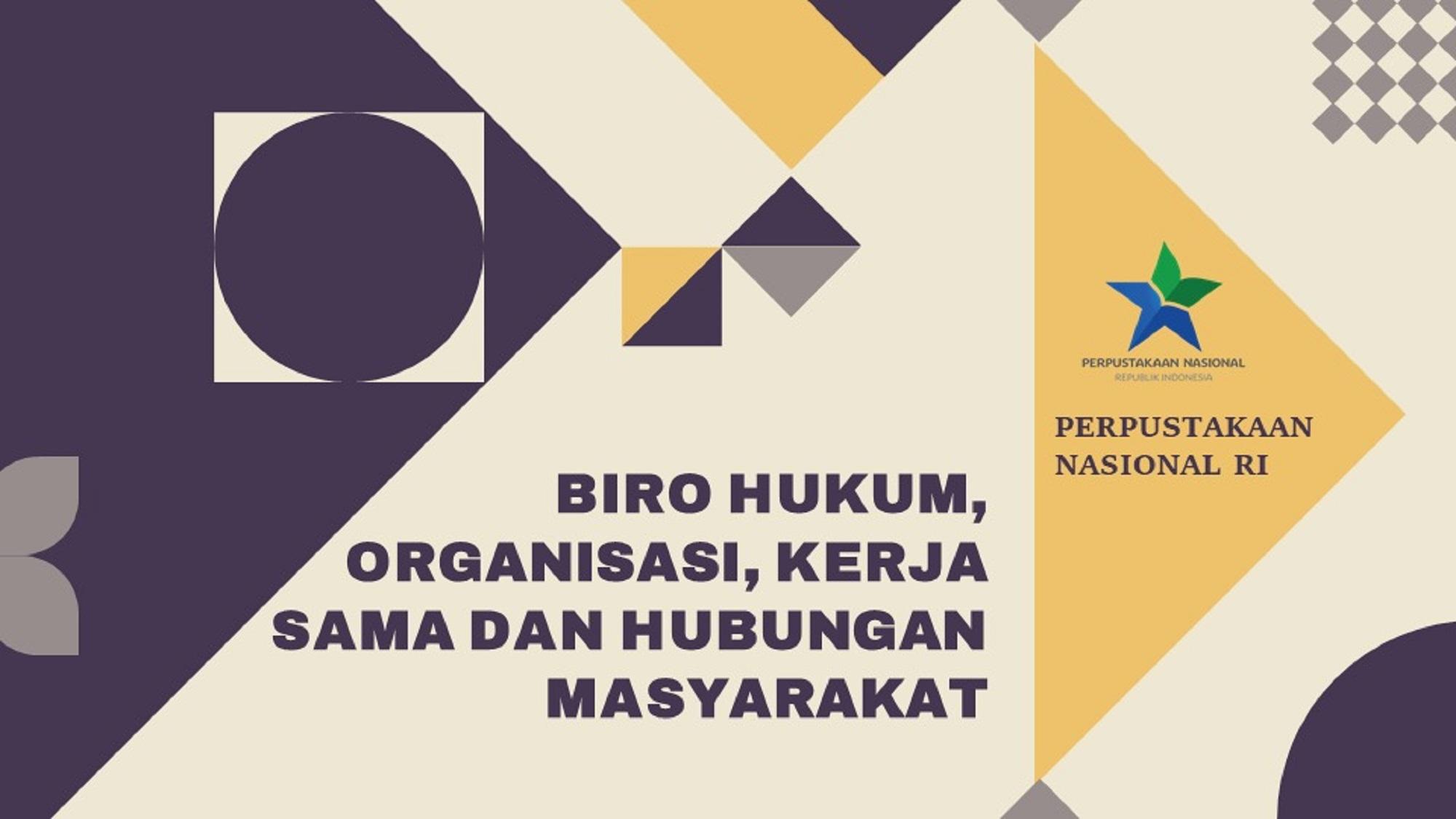 Rapat Harmonisasi Rancangan Peraturan Perpustakaan Nasional tentang Pelimpahan Dekonsentrasi-27 November 2020
