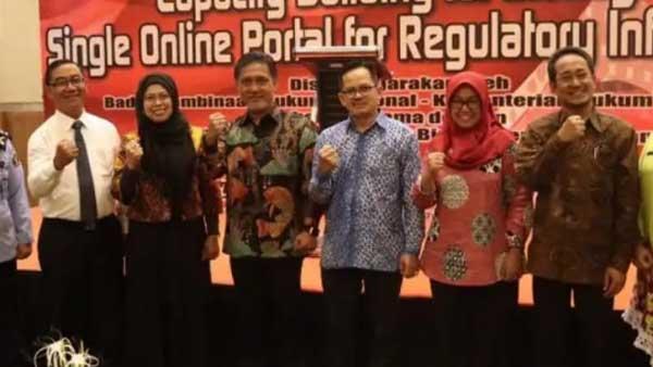 LAPORAN  KEGIATAN  MENGIKUTI  CAPACITY BULIDING FOR MANAGING SINGLE ONLINE PORTAL FOR REGULATYORY INFORMATION Hotel Harper, Yogyakarta 15 s.d 16 Oktober 2018