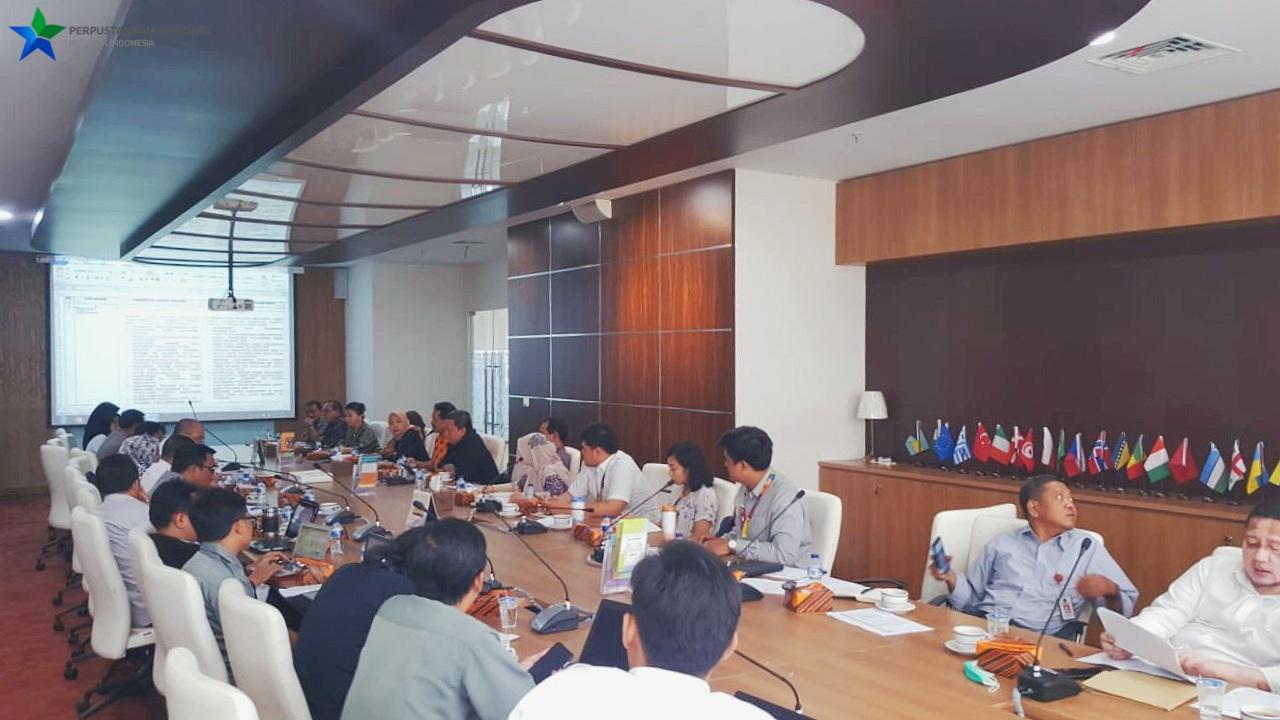 Rapat Koordinasi Lanjutan Penyelesaian RPP PUPK Bidang Perpustakaan